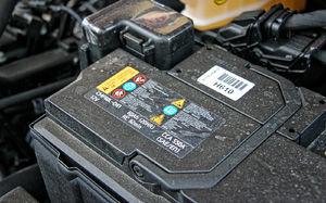 Аккумулятор на солярис