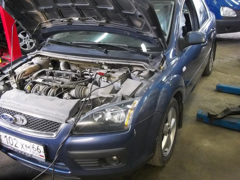 Какая полярность аккумулятора на форд фокус 2