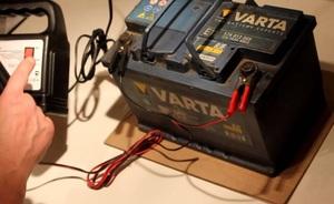Зарядка аккумуляторнойбатарей