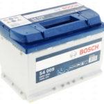 Автомобильный аккумулятор Bosch (АКБ Бош)