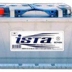 Аккумулятор Иста: разновидности автомобильных АКБ