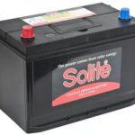 Корейский автомобильный аккумулятор Solite