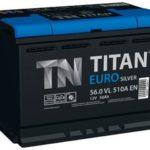 Автомобильный аккумулятор Titan Euro Silver