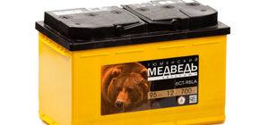Аккумулятор Тюменский Медведь: описание автомобильной АКБ