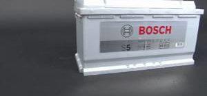 Эксплуатация аккумулятора bosch s5 silver plus