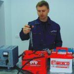 Проведение КТЦ кислотного аккумулятора в домашних условиях