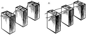 Схема параллельного подключения аккумуляторов