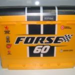 Технические характеристики аккумулятора Forse 60 Ah 600 A